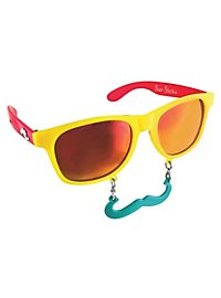 Sun Staches Tropical Party Glasses