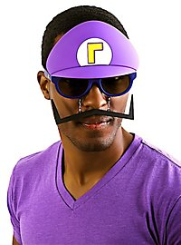 Sun Staches Waluigi Party Glasses