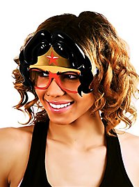 Sun Staches Wonder Woman Mask Party Glasses