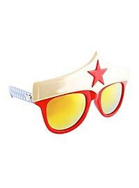 Sun-Staches Wonder Woman Party Glasses