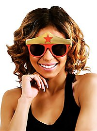 Sun Staches Wonder Woman Party Glasses