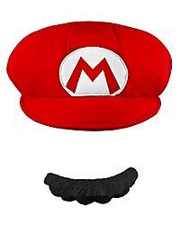 Super Mario Hat & Beard Set