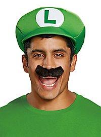 Super Mario Luigi Mütze & Bart Set