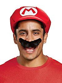 Super Mario Mütze & Bart Set