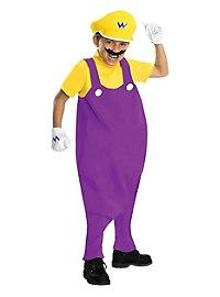 Super Mario Wario Kids Costume