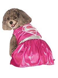 Supergirl pink Hundekostüm