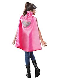 Supergirl rosa Umhang für Kinder