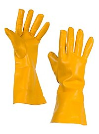 Superhelden-Handschuhe gelb