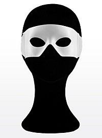 Superhelden-Maske weiß