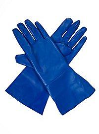 Superhero Gloves blue