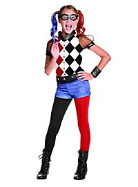 Superhero Harley Quinn kid's costume
