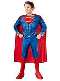 Superman mit Leuchteffekt Kinderkostüm