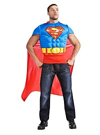 Superman Muscle Shirt Costume