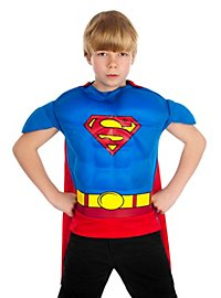 Superman Muscle Shirt Kids Costume