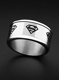 Superman Spinning Ring steel