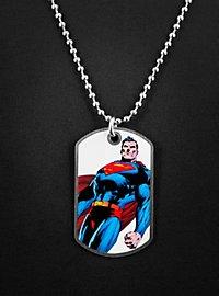 Superman stehend Dog Tag