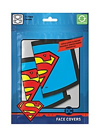 Superman - Superman Logo Face Covering Double Pack
