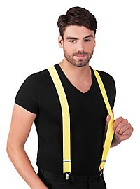 Suspenders neon yellow