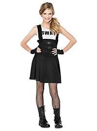 SWAT Anwärterin Kostüm für Jugendliche