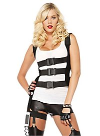 SWAT body harness with mobile phone holder