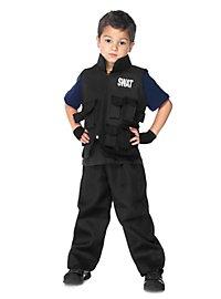 SWAT Special Unit Kids Costume