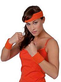 Sweatband set orange