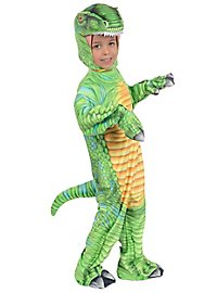 T-Rex green dinosaur costume for children