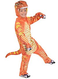 T-Rex orange dinosaur costume for children