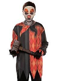 T-shirt de clown terrifiant pour enfant