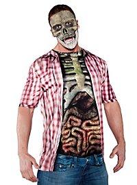 T-shirt de zombie réaliste