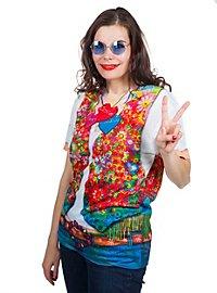 T-shirt fantaisie femme hippie