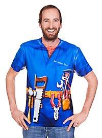 T-shirt humour bricoleur
