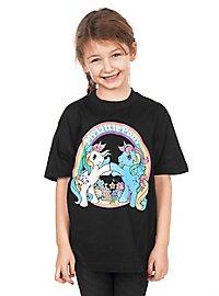 T-shirt My Little Ponny noir pour enfant