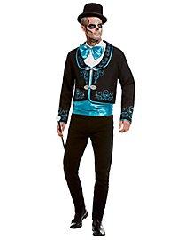 Tag der Toten Gentleman Kostüm