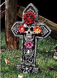 Tag der Toten Grabstein Spinne