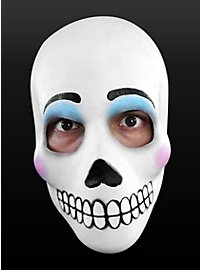 Tag der Toten-Maske Catrina aus Latex