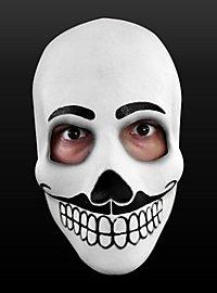 Tag der Toten-Maske Fandango aus Latex