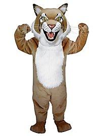 Tan Bobcat Mascot