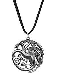 Game of Thrones - Anhänger & Kette Targaryen
