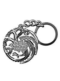 Game of Thrones - Schlüsselanhänger Targaryen Gun Metal