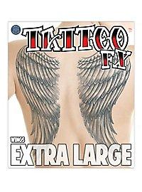 Tatouage décalcomanie ailes XL
