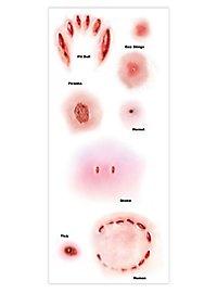 Tatouage décalcomanie morsures