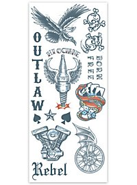 Tatouage décalcomanie Outlaw