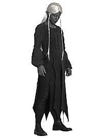Tenue de voleuse de grand chemin en cuir noir