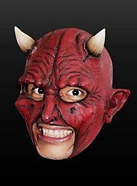 Teufel Kinnlose Maske aus Latex