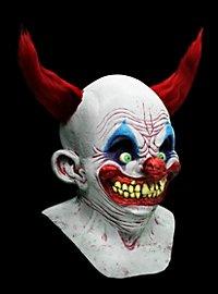 Teufelsclown Maske aus Latex
