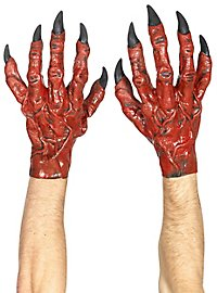Teufelshände rot