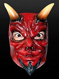 Teufelsmaske aus Latex