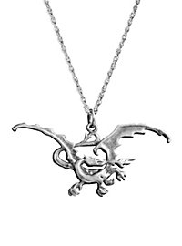 The Hobbit Smaug Pendant with Necklace