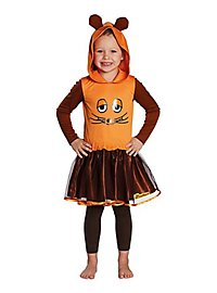 The mouse costume dress for children